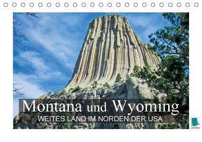 Montana und Wyoming – Weites Land im Norden der USA (Tischkalender 2018 DIN A5 quer) von CALVENDO