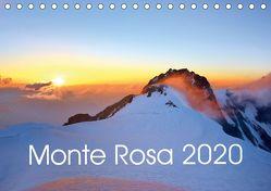 Monte Rosa (Tischkalender 2020 DIN A5 quer) von Kehl,  Michael