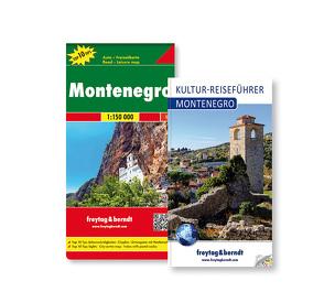 Montenegro Set, Kulturführer + Autokarte 1:150.000