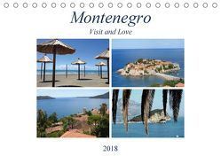 Montenegro – Visit and Love (Tischkalender 2018 DIN A5 quer) von Sommer - Visit and Love,  Melanie