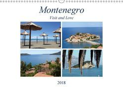 Montenegro – Visit and Love (Wandkalender 2018 DIN A3 quer) von Sommer - Visit and Love,  Melanie