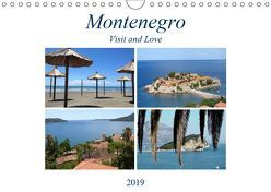 Montenegro – Visit and Love (Wandkalender 2019 DIN A4 quer) von Sommer - Visit and Love,  Melanie