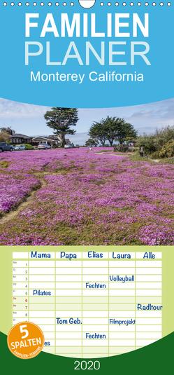 Monterey California – Familienplaner hoch (Wandkalender 2020 , 21 cm x 45 cm, hoch) von Möller,  Peter