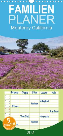 Monterey California – Familienplaner hoch (Wandkalender 2021 , 21 cm x 45 cm, hoch) von Möller,  Peter