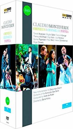 Monteverdi Cycle von de Ridder,  André, Monteverdi,  Claudio