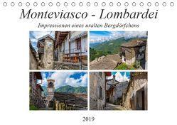 Monteviasco – Lombardei (Tischkalender 2019 DIN A5 quer) von Di Chito,  Ursula