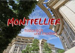 Montpellier – historisch und modern (Wandkalender 2019 DIN A2 quer) von Haafke,  Udo