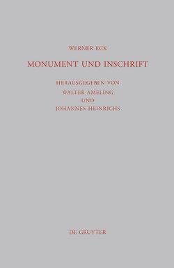 Monument und Inschrift von Ameling,  Walter, Eck,  Werner, Heinrichs,  Johannes