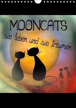 Mooncats – sie leben und sie träumen (Wandkalender 2018 DIN A4 hoch) von IssaBild