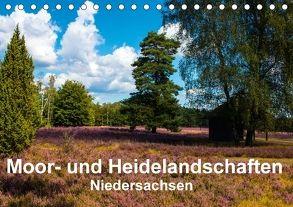 Moor- und Heidelandschaften Niedersachsen (Tischkalender 2018 DIN A5 quer) von E. Hornecker,  Heinz