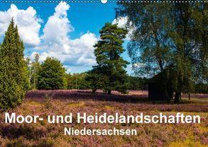 Moor- und Heidelandschaften Niedersachsen (Wandkalender 2018 DIN A2 quer) von E. Hornecker,  Heinz