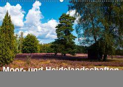 Moor- und Heidelandschaften Niedersachsen (Wandkalender 2019 DIN A2 quer) von E. Hornecker,  Heinz
