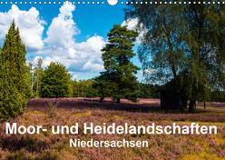 Moor- und Heidelandschaften Niedersachsen (Wandkalender 2020 DIN A3 quer) von E. Hornecker,  Heinz