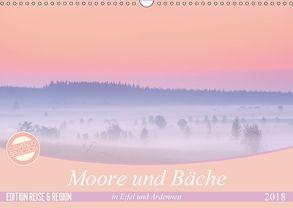 Moore und Bäche in Eifel und Ardennen (Wandkalender 2018 DIN A3 quer) von Schnepp,  Rolf