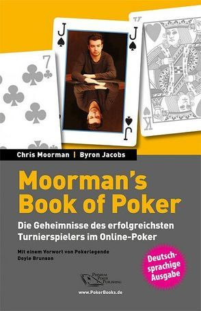 Moorman's Book of Poker von Jacobs,  Byron, Moorman,  Chris, Vollmar,  Rainer