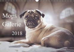 Mops Galerie 2018 (Wandkalender 2018 DIN A3 quer) von Galerie,  Mops