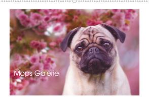Mops Galerie (Wandkalender 2020 DIN A2 quer) von Arendt,  Melanie