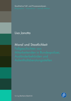 Moral und Staatlichkeit von Janotta,  Lisa