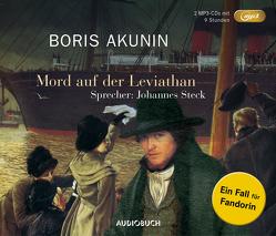 Mord auf der Leviathan (MP3-CDs) von Akunin,  Boris, Ernst,  Michael Andreas, Reschke,  Renate, Reschke,  Thomas, Steck,  Johannes