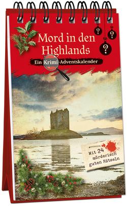 Mord in den Highlands von Lückel,  Kristin