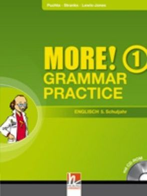 MORE! Grammar Practice 1, mit CD-ROM von Lewis-Jones,  Peter, Puchta,  Herbert, Stranks,  Jeff