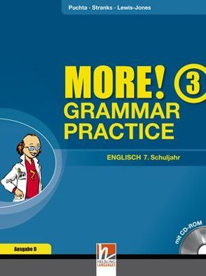MORE! Grammar Practice 3, Ausgabe Deutschland und Schweiz, mit 1 CD-ROM von Lewis-Jones,  Peter, Puchta,  Herbert, Stranks,  Jeff