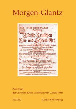 Morgen-Glatz 22/2012 von Braungart,  Georg, Theisohn,  Philipp