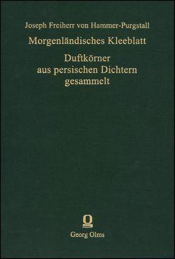 Morgenländisches Kleeblatt von Hammer-Purgstall,  Joseph Freiherr von
