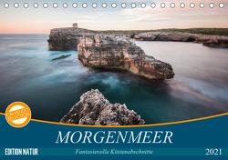 MORGENMEER – Fantasievolle Küstenabschnitte (Tischkalender 2021 DIN A5 quer) von Korte,  Niko