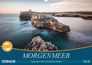 MORGENMEER – Fantasievolle Küstenabschnitte (Wandkalender 2018 DIN A3 quer) von Korte,  Niko