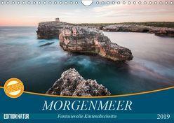 MORGENMEER – Fantasievolle Küstenabschnitte (Wandkalender 2019 DIN A4 quer) von Korte,  Niko