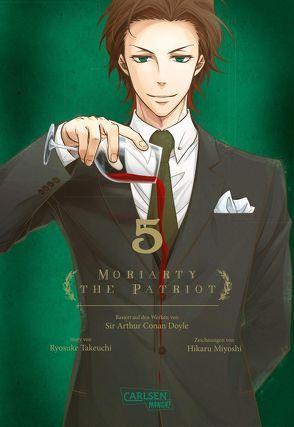 Moriarty the Patriot 5 von Bartholomäus,  Gandalf, Miyoshi,  Hikaru, Takeuchi,  Ryosuke