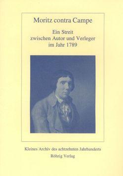 Moritz contra Campe von Campe,  Joachim H, Marx,  Reiner, Moritz,  Karl Ph, Sauder,  Gerhard
