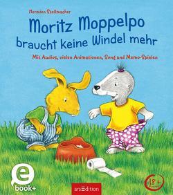 Moritz Moppelpo braucht keine Windel mehr (Enhanced E-Book) von Stellmacher,  Hermien