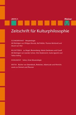 Morphologie von Konersmann,  Ralf, Westerkamp,  Dirk