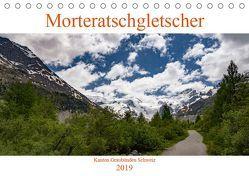 MorteratschgletscherCH-Version (Tischkalender 2019 DIN A5 quer) von DaG
