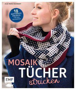 Mosaiktücher stricken von Hegenbart,  Julia-Maria