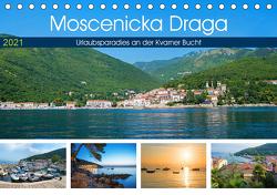 Moscenicka Draga 2021 – Urlaubsparadies an der Kvarner Bucht (Tischkalender 2021 DIN A5 quer) von SusaZoom