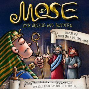 Mose – Der Auszug aus Ägypten von Graf,  Monika, Zerbin,  Wolfgang