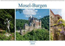 Mosel-Burgen (Wandkalender 2019 DIN A2 quer) von Hess,  Erhard