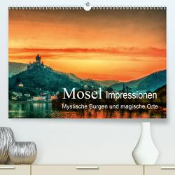 Mosel Impressionen Mystische Burgen und magische Orte (Premium, hochwertiger DIN A2 Wandkalender 2020, Kunstdruck in Hochglanz) von Wenske,  Steffen