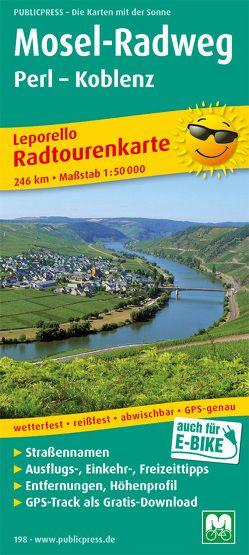 Mosel-Radweg, Perl – Koblenz