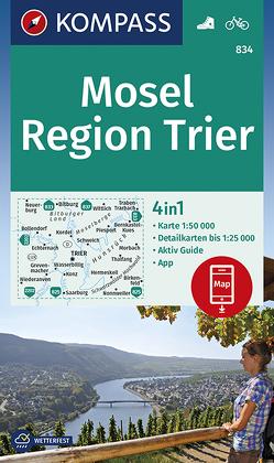 Mosel, Region Trier von KOMPASS-Karten GmbH