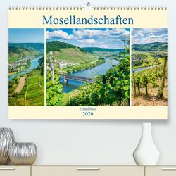 Mosellandschaften (Premium, hochwertiger DIN A2 Wandkalender 2020, Kunstdruck in Hochglanz) von Hess,  Erhard