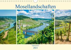Mosellandschaften (Wandkalender 2021 DIN A4 quer) von Hess,  Erhard