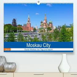 Moskau City (Premium, hochwertiger DIN A2 Wandkalender 2021, Kunstdruck in Hochglanz) von Nawrocki,  Markus
