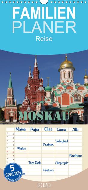 Moskau – Familienplaner hoch (Wandkalender 2020 , 21 cm x 45 cm, hoch) von Blume,  Hubertus