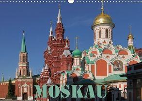 Moskau (Wandkalender 2018 DIN A3 quer) von Blume,  Hubertus