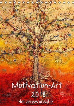 Motivation-Art 2018 (Tischkalender 2018 DIN A5 hoch) von Lehmann,  Joerg
