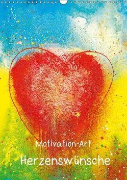 Motivation-Art Herzenswünsche (Wandkalender 2018 DIN A3 hoch) von Lehmann,  Joerg